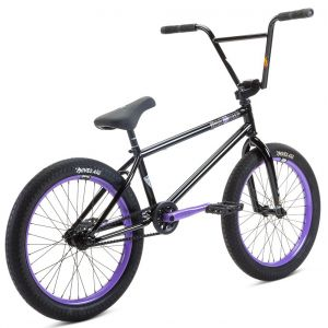 "Велосипед Stolen Sinner 20"" 2021 FC XLT RHD BMX Freestyle Bike (black-violet)"