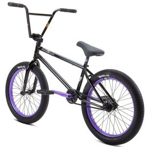 "Велосипед Stolen Sinner 20"" 2021 FC XLT LHD BMX Freestyle Bike (black-violet)"