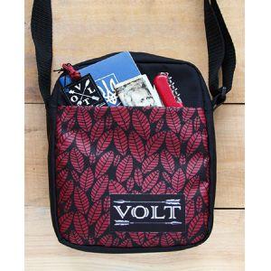 Мессенжер - сумка через плечо Volt Leaves Bordo