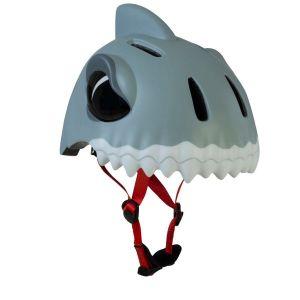Защитный шлем CrazySafety White Shark new