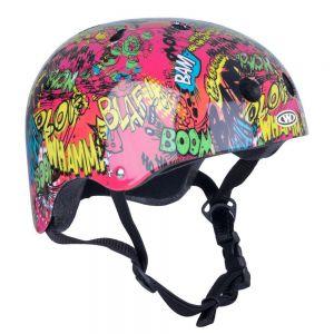Шлем защитный Worker Freestyle Komik (красный)