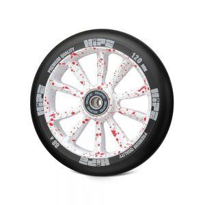Колесо для трюкового самоката Hipe Lmt 09L 120 red-white