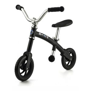 Беговел Micro G-Bike+ Chopper black (черный)