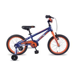 "Велосипед 16"" Apollo Neo boys 2017 Gloss Navy Blue / Gloss Orange"