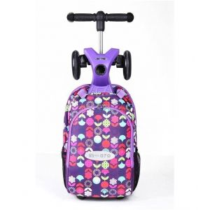 Самокат Maxi Micro 4 in 1 Purple Floral (фиолетовый)