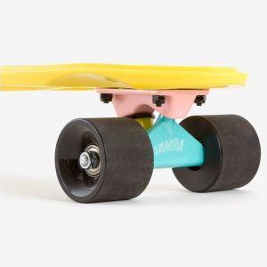 Скейтборд OXELO CRUISER YAMBA (ярко-желтый)