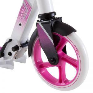 Самокат Oxelo MID 7 (бело-розовый)