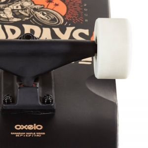 Скейтборд CRUISER OXELO CITY THRASHER RIDE (черный)