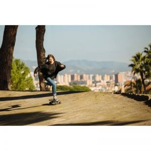 Скейтборд OXELO CRUISER YAMBA WOOD 500 SQUARE