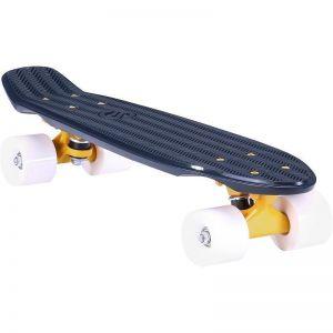 Скейтборд OXELO CRUISER YAMBA (черно-белый)