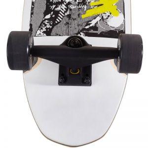 Скейтборд CRUISER OXELO CITY THRASHER RIDE (белый)