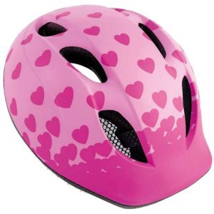 Шлем защитный Met Buddy Pink Hearts (розовый)