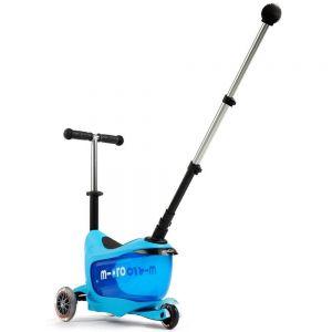 Самокат Micro Mini2Go Blue Deluxe Plus (голубой)
