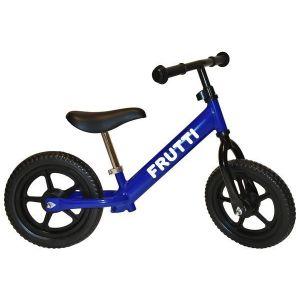 """Беговел Frutti 12"""" Plum black wheels (синий/черный)"""