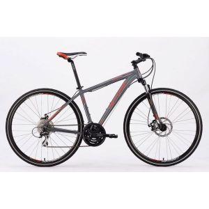 Велосипед Centurion Cross C7-HD Matt Anthracite (матовый серебристый)
