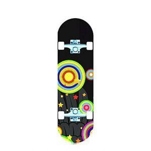Скейтборд Explore Champion (черно-желтый)