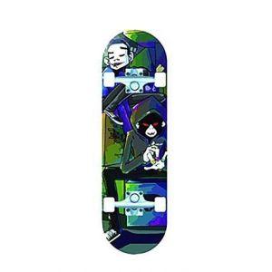 Скейтборд Explore Champion (сине-зеленый)