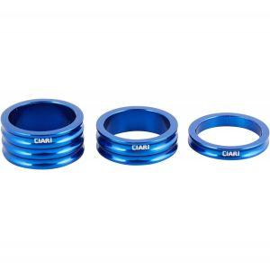 "Комплект спейсеров Crisp Ciari Anelli Headset Spacers Set Blue 1-1/8"""