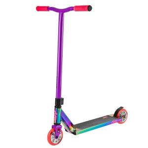 Трюковой самокат Crisp Scooters Surge Chrome Pink