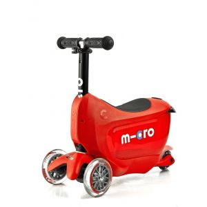 Самокат Micro Mini2Go Red Deluxe (красный)