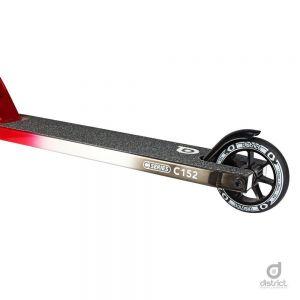 Трюковой самокат District C-Series Complete C152 Tri Chrome Black/Silver/Red