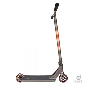 Трюковой самокат District HTS Complete Scooter Titanium Grey