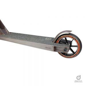 Трюковой самокат District HTS Complete Scooter Titanium Grey