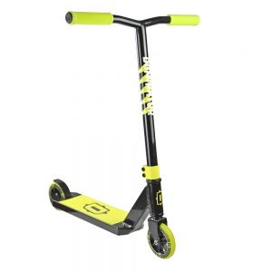 Трюковой самокат Dominator Trooper Complete Scooter Black-Neon Yellow
