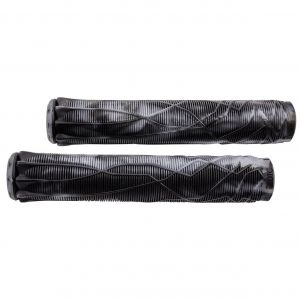 Грипсы Ethic DTC Rubber Pro Scooter Grips (черно-прозрачный)