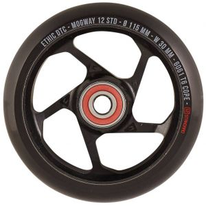 Колесо для трюкового самоката Ethic Mogway 12STD 115mm Pro Scooter Wheel (Black)