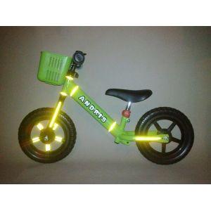 Светящиеся наклейки для беговела Frutti (зеленый)