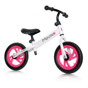 Беговел Movino Sport (white-pink)
