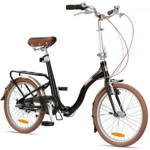 "Велосипед складной Barcelona Citizen 20"" Folding Cruiser (black)"