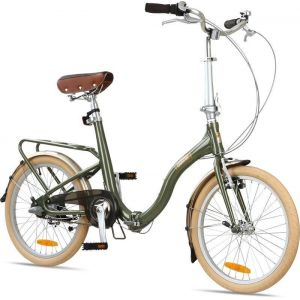 "Велосипед складной Barcelona Citizen 20"" Folding Cruiser (green)"