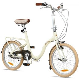 "Велосипед складной Barcelona Citizen 20"" Folding Cruiser (ivory)"