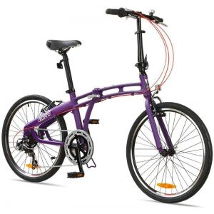 "Велосипед складной Gotham Citizen 24"" 7-sp Folding Cruiser (purple)"