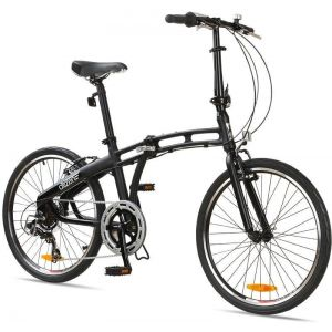 "Велосипед складной Gotham Citizen Bike 24"" 7-sp Folding Cruiser (black)"