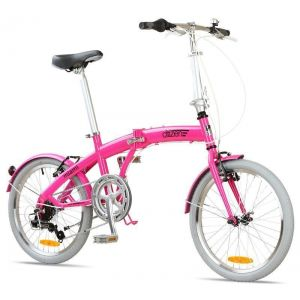 "Велосипед складной Miami Citizen 20"" 6-speed Folding Cruiser (magenta)"