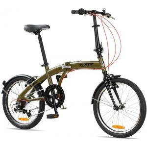"Велосипед складной Miami Citizen 20"" 6-speed Folding Cruiser (olive green)"