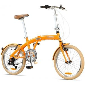 "Велосипед складной Miami Citizen 20"" 6-speed Folding Cruiser (orange)"