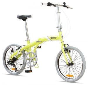 "Велосипед складной Seoul Citizen 20"" 6-speed Folding Cruiser (lime)"