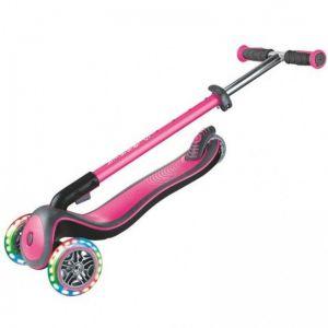 Самокат Globber Fold Up Light wheels Elite Deluxe (розовый)
