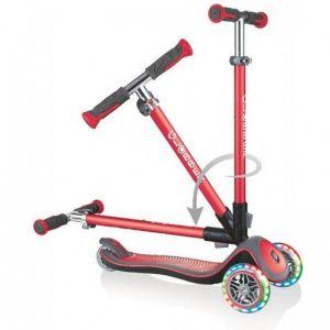 Самокат Globber Fold Up Light wheels Elite Deluxe (красный)