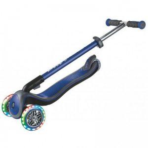 Самокат Globber Fold Up Light wheels Elite Deluxe (синий)