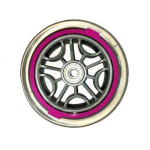 Колесо Globber оригинальное, с подшипниками (120 мм, розовый)