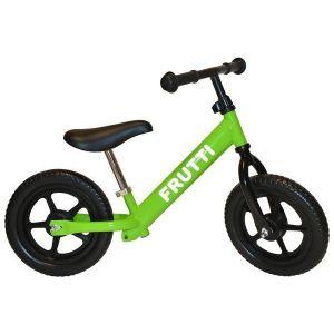 "Беговел Frutti 12"" Kiwi black wheels (зеленый/черный)"