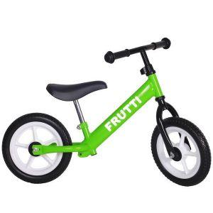 "Беговел Frutti 12"" Kiwi white wheels (зеленый/белый)"