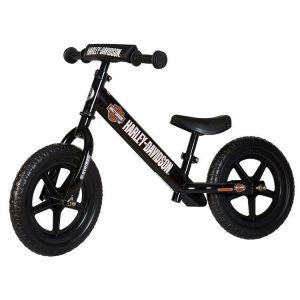 Беговел Strider Sport Custom Harley-Davidson (черный)