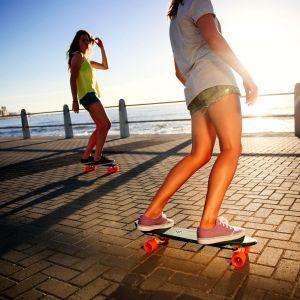 Скейтборд OXELO CRUISER BIG YAMBA (темно-зеленый)