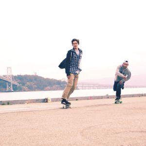 Скейтборд CRUISER CITY OXELO (зеленый)